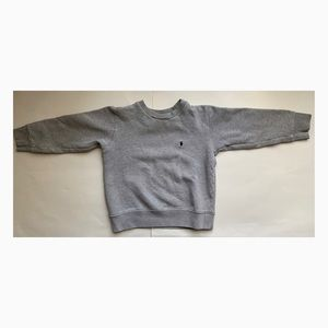 Used Polo Ralph Lauren Boys Gray Sweater - Size 5